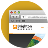 web design for brighton machinery